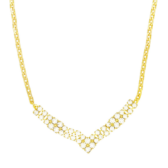 46018 18K Gold Layered Necklace