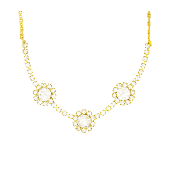 46020 18K Gold Layered Necklace