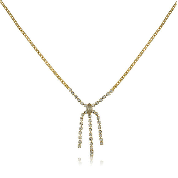 46022 18K Gold Layered Necklace 35cm/14in