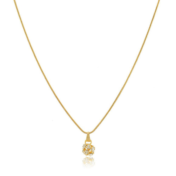 46026 18K Gold Layered Necklace 50cm/20in
