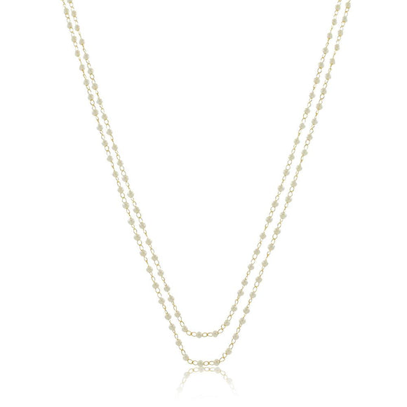 46034 18K Gold Layered 120Necklace 120cm/48in