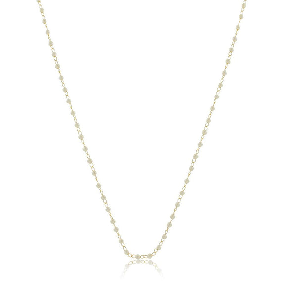 46034 18K Gold Layered 45Necklace 45cm/18in