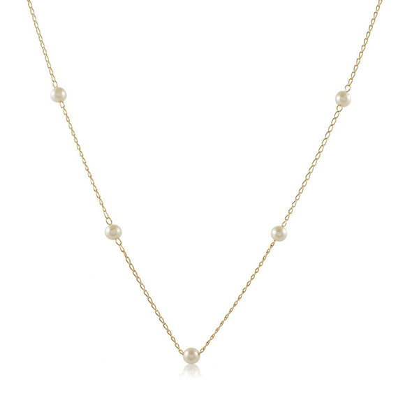 46040 18K Gold Layered Necklace 45cm/18in