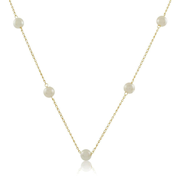 46042 18K Gold Layered Necklace 45cm/18in