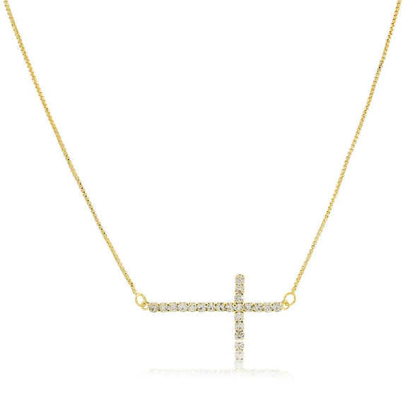 46043 18K Gold Layered Necklace 45cm/18in