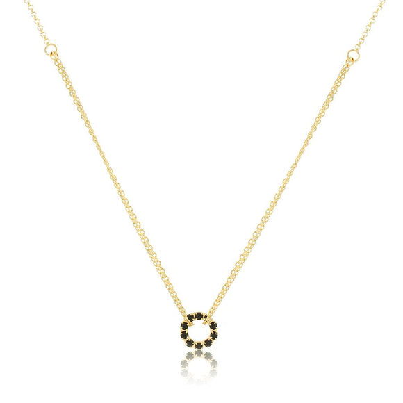46054 18K Gold Layered Necklace 40cm/16in