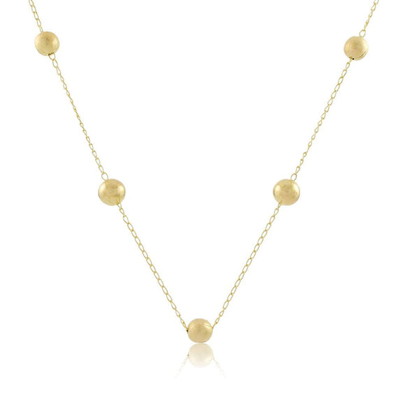 46058 18K Gold Layered Necklace 45cm/18in