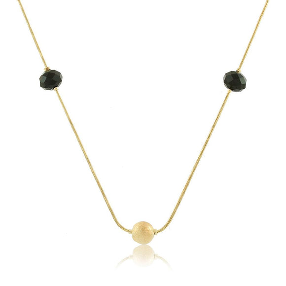 46060 18K Gold Layered Necklace 45cm/18in