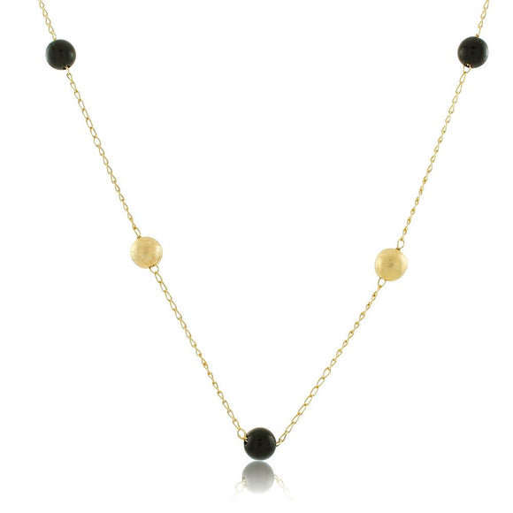 46061 18K Gold Layered Necklace 45cm/18in