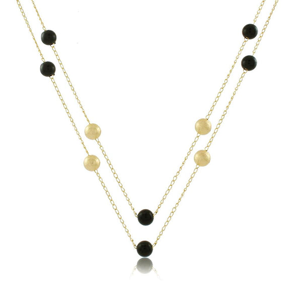 46062 18K Gold Layered Necklace 120cm/48in