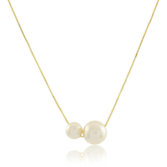 46067 18K Gold Layered Necklace 45cm/18in