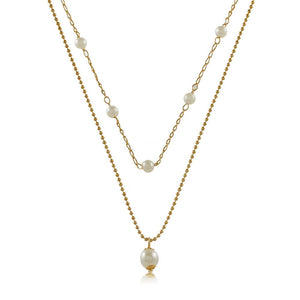 46068 18K Gold Layered Necklace 50cm/20in