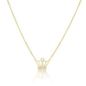 46072 18K Gold Layered Necklace 45cm/18in