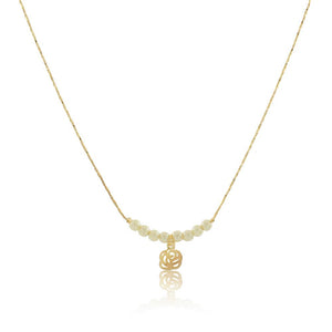 46073 18K Gold Layered Necklace 35cm/14in