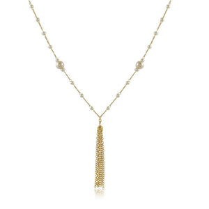 46079 18K Gold Layered Necklace 90cm/36in