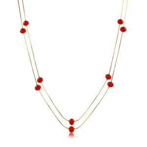 46082 18K Gold Layered Necklace 150cm60in