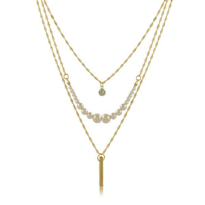 46088 18K Gold Layered Necklace 60cm/24in