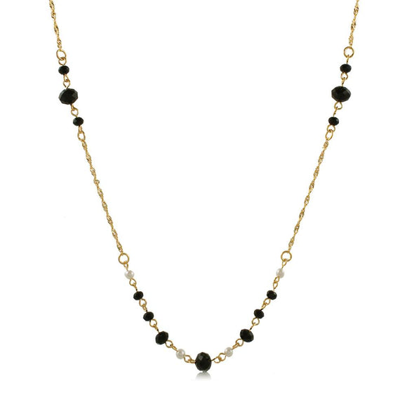 46091 18K Gold Layered Necklace 50cm/20in