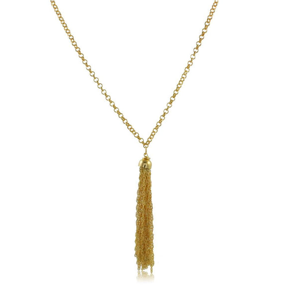 46097 18K Gold Layered Necklace 70cm/28in