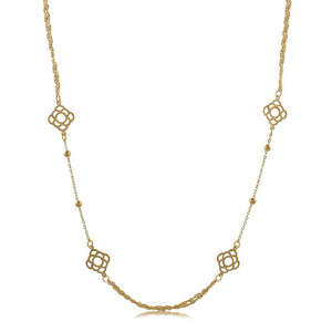 46098 18K Gold Layered Necklace 60cm/24in