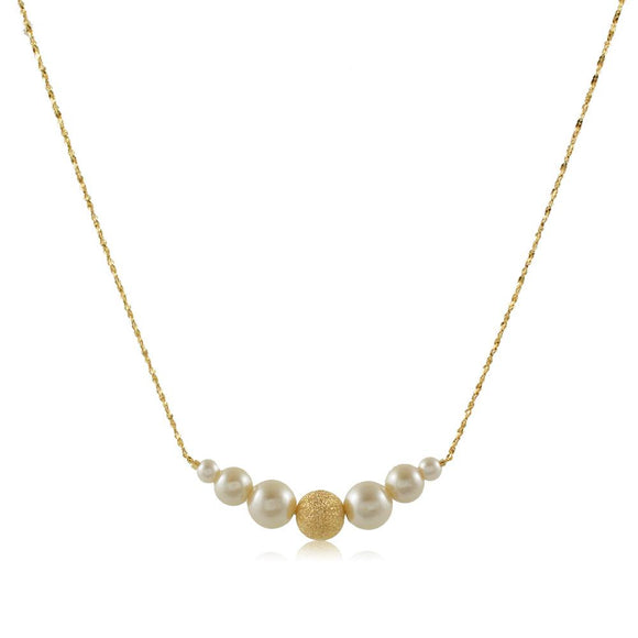 46101 18K Gold Layered Necklace 45cm/18in