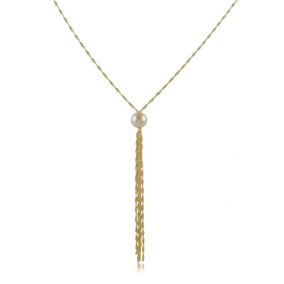 46113 18K Gold Layered Necklace 70cm/28in