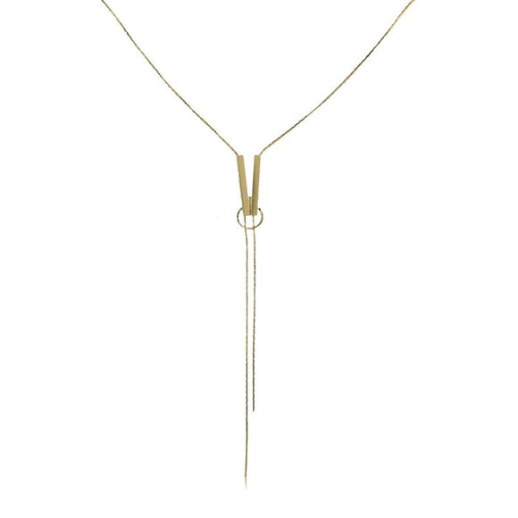 46114 18K Gold Layered Necklace 70cm/28in