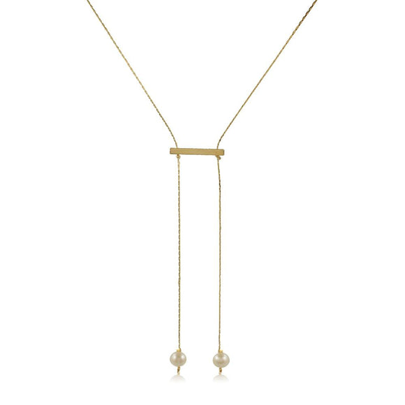 46116 18K Gold Layered Necklace 90cm/36in