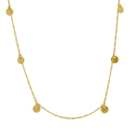 46143 18K Gold Layered Necklace