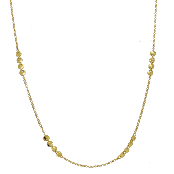 46147 18K Gold Layered Necklace