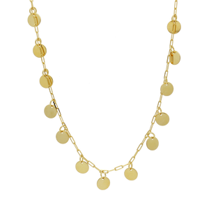 46149 18K Gold Layered Necklace