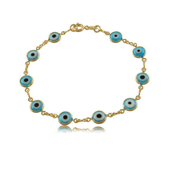 51287 18K Gold Layered -Bracelet 20cm/8in