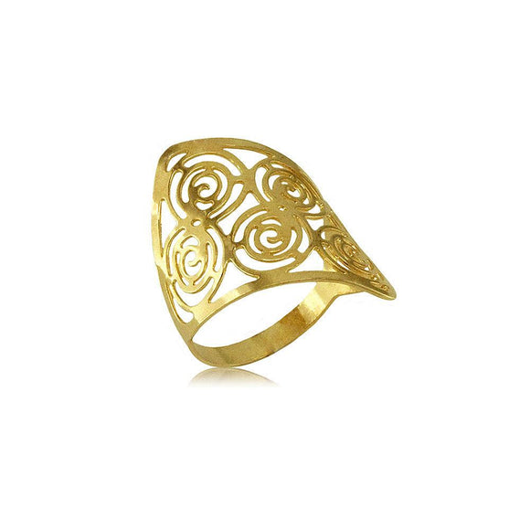 62442 18K Gold Layered -Women's Ring