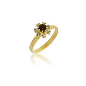 66002 18K Gold Layered Women's Ring