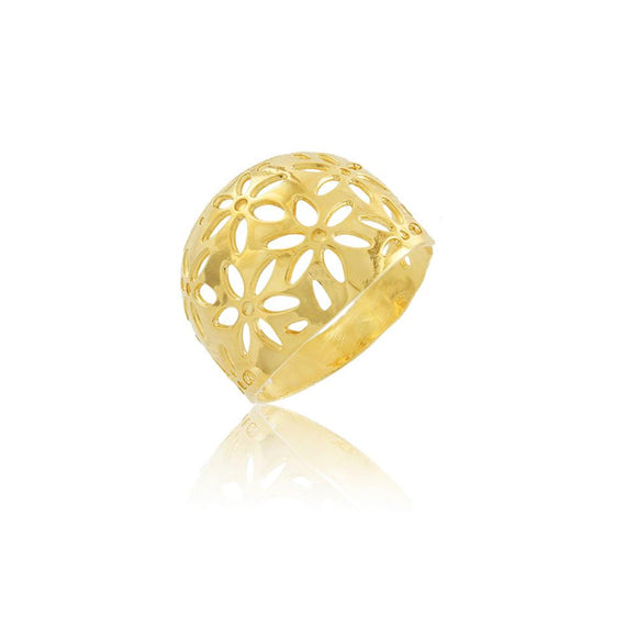 66010 18K Gold Layered Women's Ring