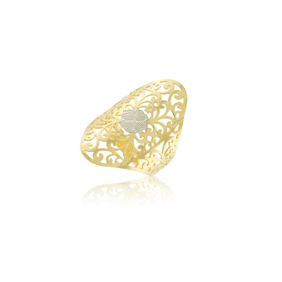 66024 18K Gold Layered Women's Ring