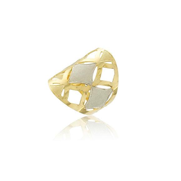 66033 18K Gold Layered Women's Ring