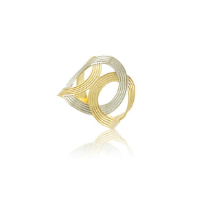 66034 18K Gold Layered Women's Ring