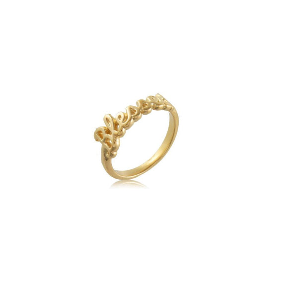 66056 18K Gold Layered Women's Knuckle Ring