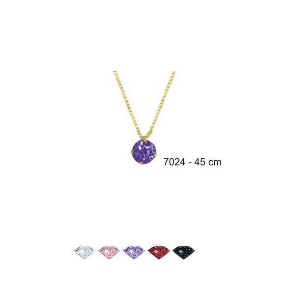7024R 18K Gold Layered Necklace 45cm/18in