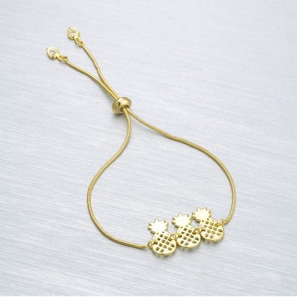 86006 18K Gold Layered Bracelet