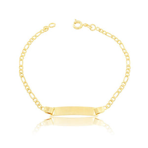 86029 18K Gold Layered Bracelet 18cm/7in
