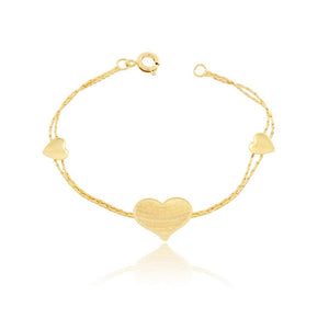86053 18K Gold Layered Bracelet 14cm/5.6in