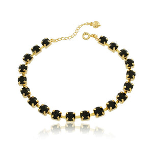86061 18K Gold Layered Bracelet 18cm/7in