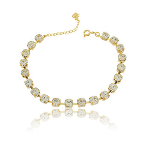 86062 18K Gold Layered Bracelet 18cm/7in
