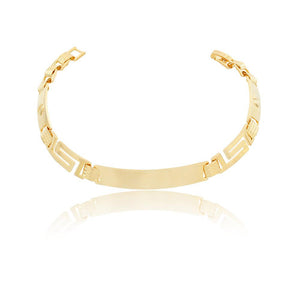 86088 18K Gold Layered Bracelet 22cm/9in