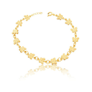 86092 18K Gold Layered Bracelet 18cm/7in