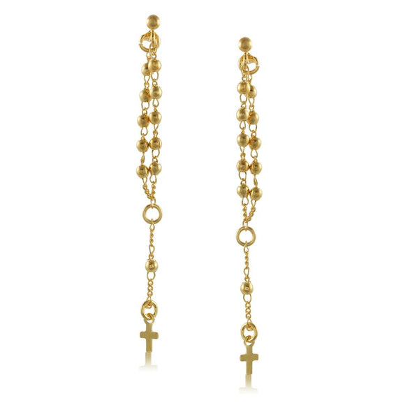 92032 18K Gold Layered -Earring