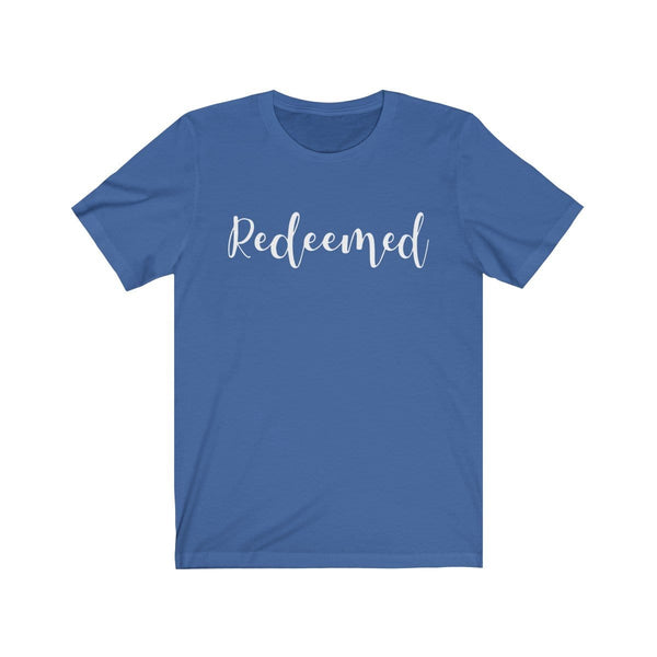 Redeemed Unisex Short Sleeve Tee - Alively