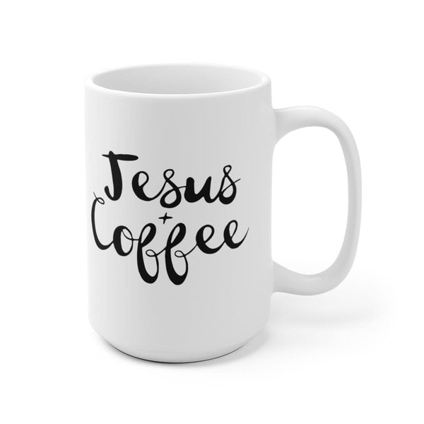 Jesus and Coffee Mug - Alively